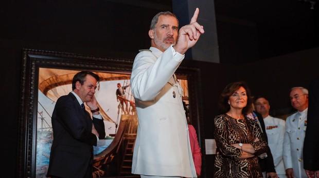 La gesta española de la primera vuelta al mundo, a toda vela en el Museo Naval de Madrid