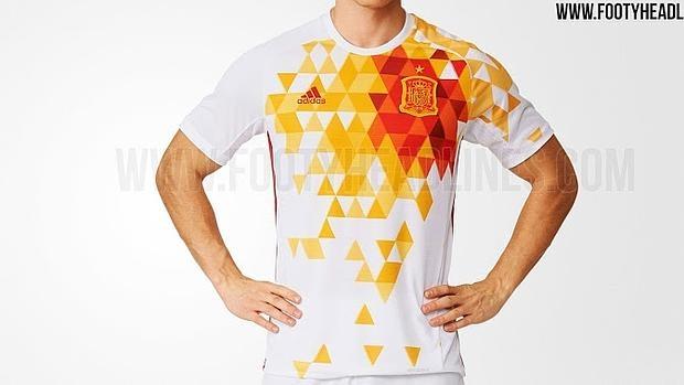 Fútbol La segunda equipación de España para la Euro 2016 9f52f49f45566