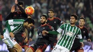 Imagen del Betis-Celta de la última jornada liguera