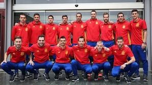 La selección española de fútbol sala que acude al Europeo de Belgrado