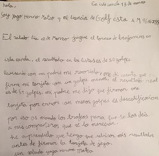 Carta de Yago