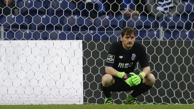 Íker Casillas, en un partido del Oporto
