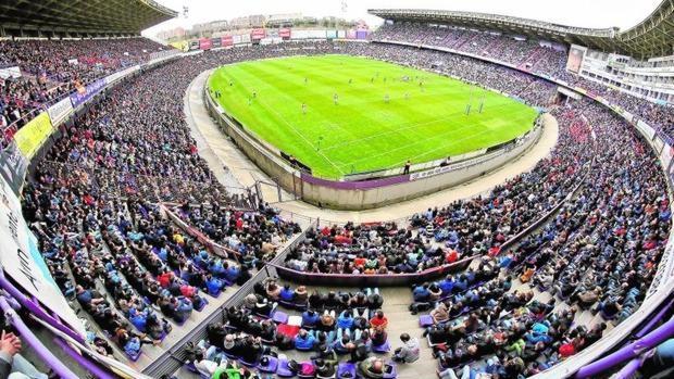 Espectacular imagen del estadio José Zorrilla
