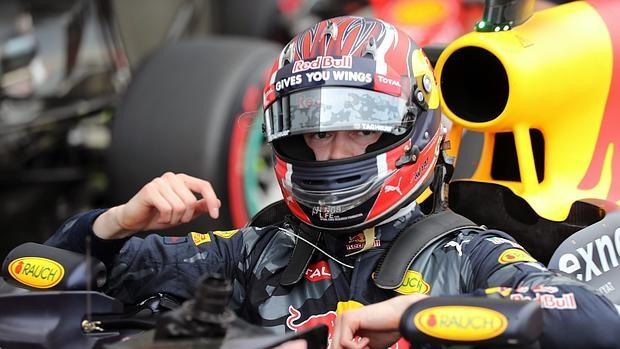 Daniil Kvyat, durante el pasado GP de Rusia en Sochi