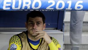 La tristeza de Íker Casillas