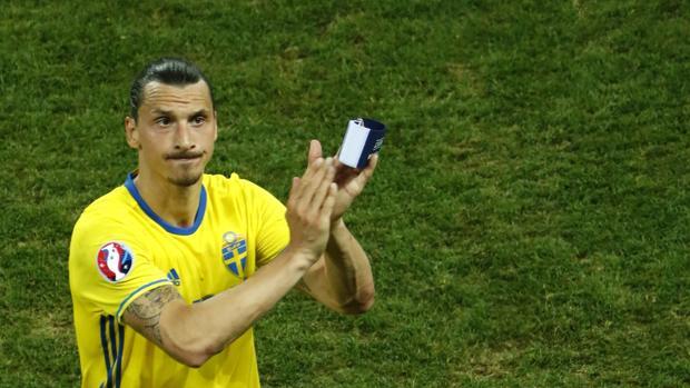 Zlatan Ibrahimovic se despide de la selección sueca tras ser eliminados en la Eurocopa