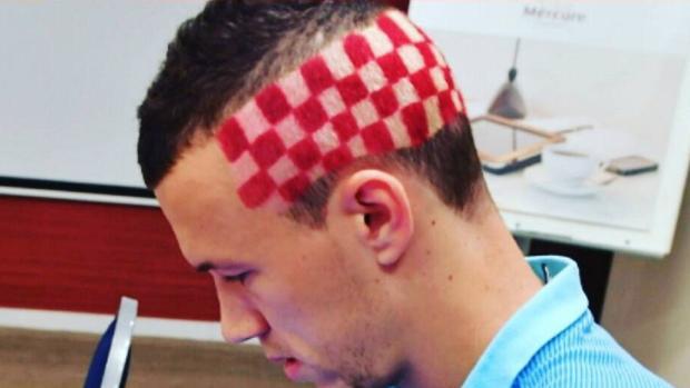 Eurocopa 2016:  El llamativo peinado de Perisic