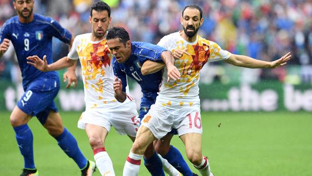 Los colaboradores de ABC analizan minuto a minuto el España-Italia