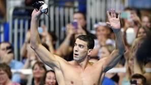 Michael Phelps vuelve a citarse con la historia