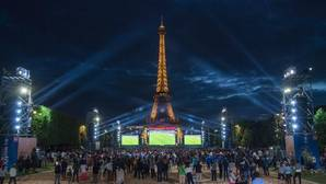 Pánico en la «fan zone» de París