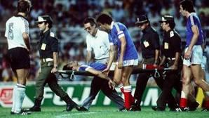 Así fue el histórico y polémico Francia-Alemania del Mundial de España 82