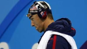 Phelps: «Me rompe el corazón que compita Efimova»