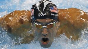 Phelps cuenta 21