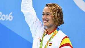 Así sonó el himno de España en Río en honor a Mireia Belmonte