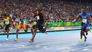 Bolt inaugura el carnaval de Río vestido de oro