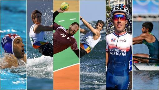Ellos son los top 12 atletas más atractivos en los Juegos