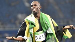 Usain Bolt, con los inmortales
