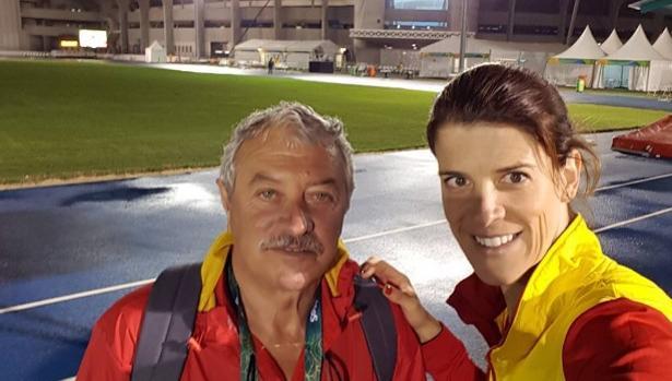 Ramón Torralbo, el entrenador orgulloso de Ruth Beitia