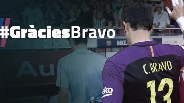 El Barça vende a Claudio Bravo por 20 millones