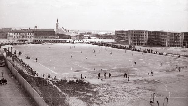 Estadio Luis Rodríguez de Miguel, uno de los antiguos campos del Leganés
