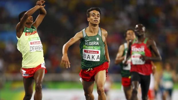 Abdellatif Baka ganó la medalla de oro en 1.500 metros