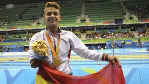 Jornada de oro para la natación española