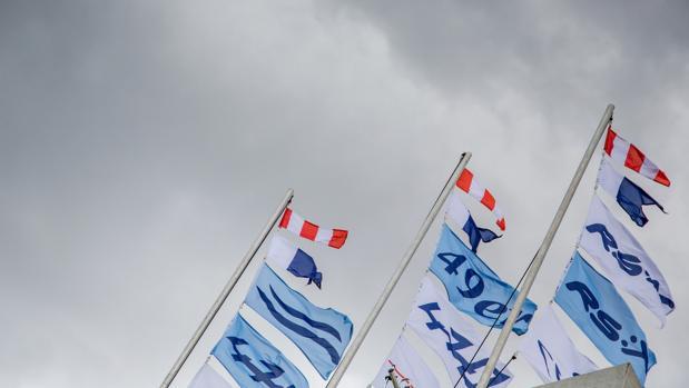 El fuerte viento deja a la flota en tierra en la tercera jornada de Melbourne