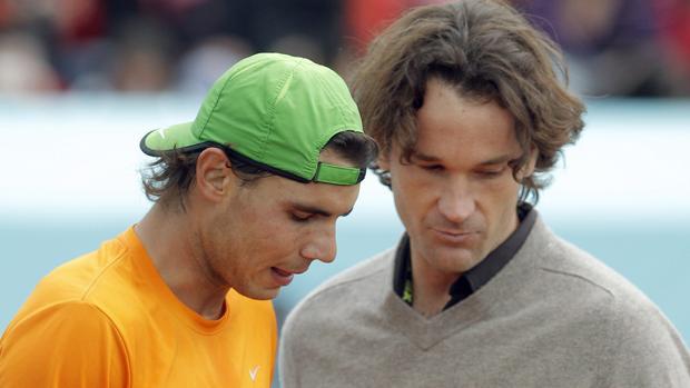 Carlos Moyá, nuevo entrenador de Rafa Nadal