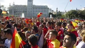 Partidarios de la selección española de fútbol denuncian un intento de agresión