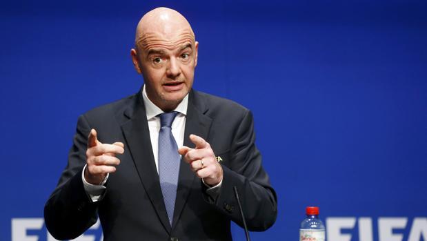 Infantino, presidente de la FIFA