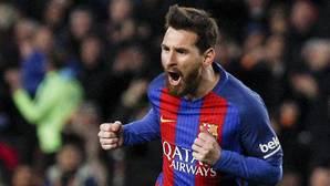 Messi se lleva al Barça a cuartos