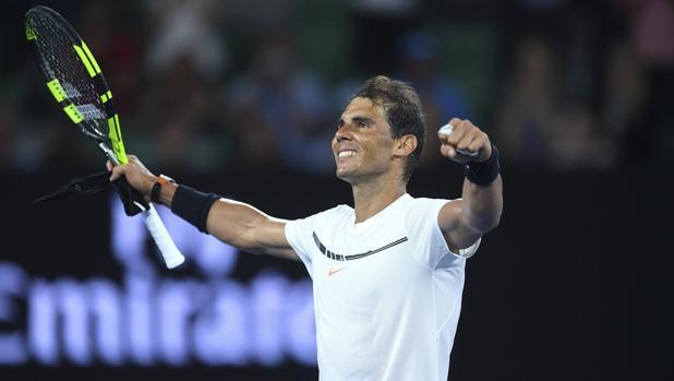 Rafael Nadal, después de su encuentro ante Baghdatis