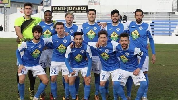 Formación del Díter Zafra de esta temporada, aunque varios jugadores ya han abandonado el club