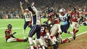 Así fue el touchdown final que dio la victoria a los Patriots