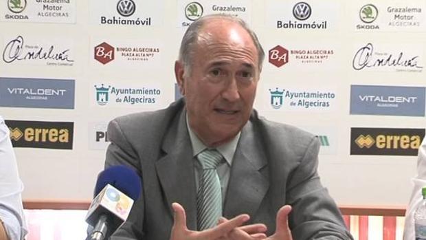 Ricardo Alfonso Álvarez, actual presidente del Algeciras CF