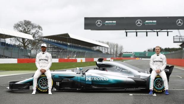 Fórmula 1:  Mercedes W08, el campeón entra en escena