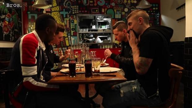 Matuidi, Meunier, Draxler y Verratti, en el vídeo en el que hablan sobre el partido de vuelta en el Camp Nou