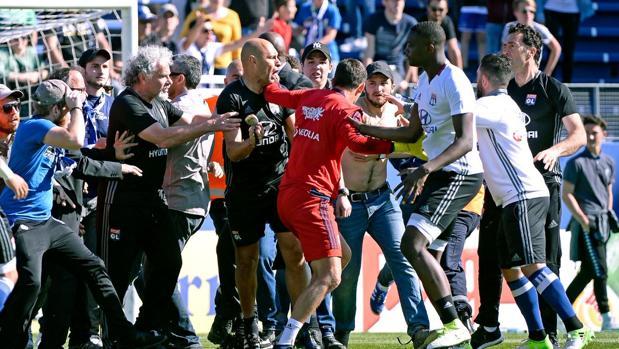 Suspendido el Bastia-Lyon por nuevos altercados al descanso