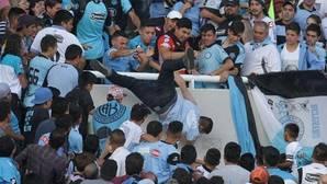 Fallece el hincha de Belgrano arrojado desde la grada