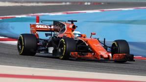 El McLaren-Honda de Alonso, en el último Gran Premio disputado