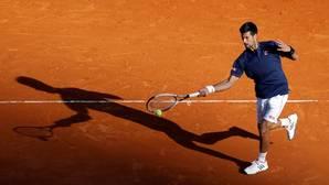 Djokovic, en su partido contra Pablo Carreño