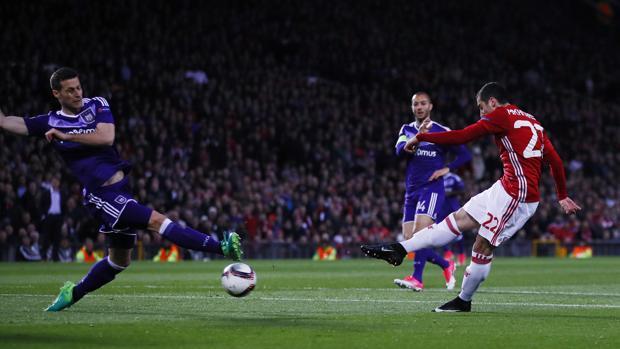 El Manchester se mete en las semifinales de la Europa League con sufrimiento
