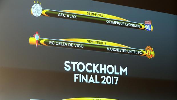 Sorteo Europa League:  El Celta, contra Mourinho