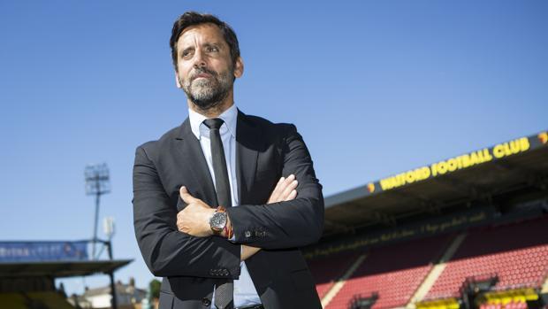 Quique Sánchez Flores dirigirá este sábado a su equipo ante el Atlético de Madrid