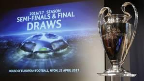 Las fechas de las semifinales de Champions 2017
