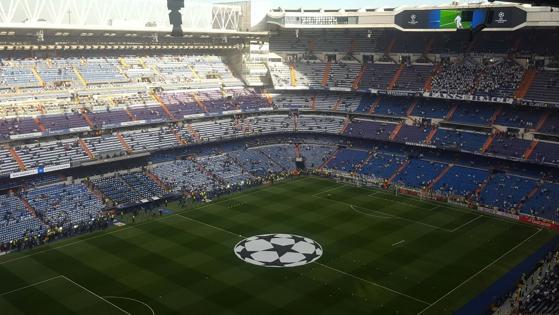 Así luce ahora el estadio Santiago Bernabéu