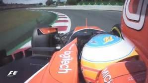 Así fue la descomunal vuelta de Alonso en la Q3