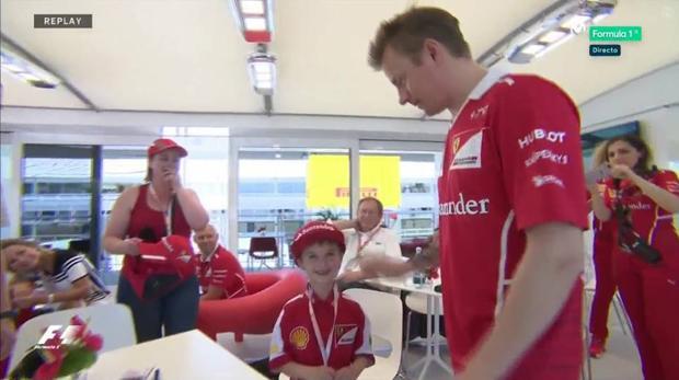 Fórmula 1 | GP de España:  El niño que lloraba en la grada y conoció a Raikkonen