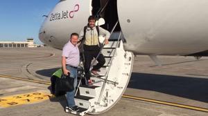 Alonso, viaje relámpago de Barcelona a Indianápolis