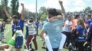 Los jugadores del Móstoles URJC jugarán su primer playoff de ascenso a Segunda B